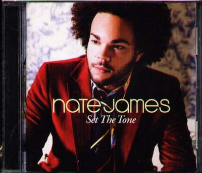 八八 - Nate James - Set the Tone - 日版 CD+3BONUS+2VIDEO