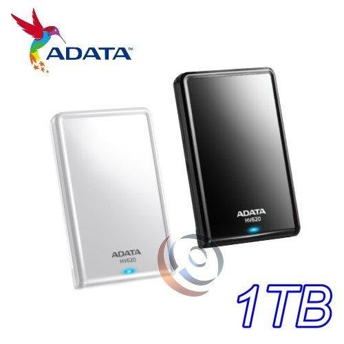 「ㄚ秒市集」新款 輕薄 威剛 HV620S 1T 1TB USB3.1 2.5吋 外接 行動硬碟 HV620