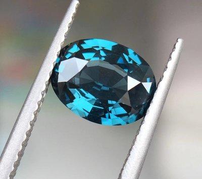天然無燒錫蘭皇家藍尖晶石1.80ct
