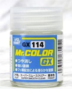 GUNZE 油性 GX114 滑順透明消光漆新配方