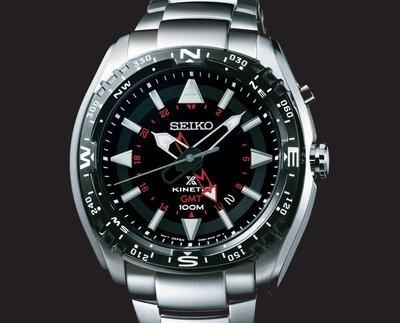 SEIKO PROSPEX 日本精工NOVAK DJOKOVIC形象代言GMT.人動電能運動腕錶 型號:SUN049J1