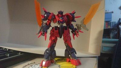 (已組裝) BANDAI 鋼彈創鬥者 HGBD 1/144 OGRE GN-X 食人魔刃-X