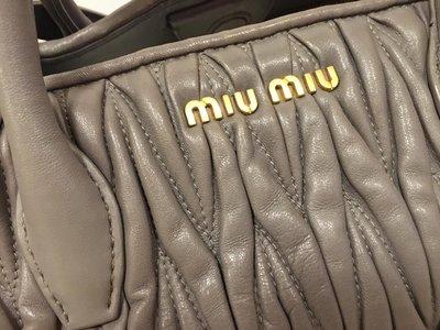 miu miu 手挽袋 (正貨)(1.3折)