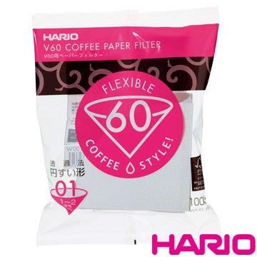 日本【HARIO】VCF-01-100W 酵素漂白濾紙 1-2杯用 100枚/包 日本原廠出品(0769088)