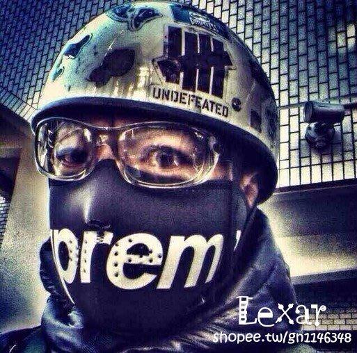 現貨SUPREME面罩摩托車保暖護臉口罩電動車狼牙小鬼騎行真人CS