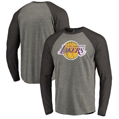 《FOS》NBA 洛杉磯 湖人隊 長T Lakers T恤 T-shirt Lebron 棉質 隊徽 禮物 新年