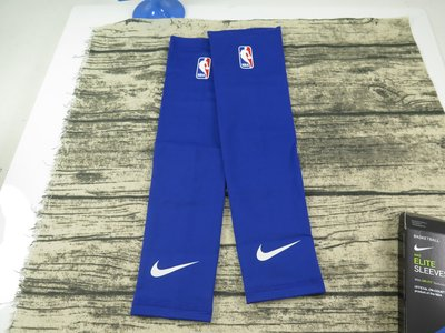 【iSport愛運動】♤ Nike  ♤ CP 護全臂 NBA 臂套(小牛) 1對 NKS09457SM 藍款