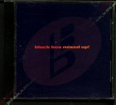799免運CD~BLACK BOX 黑盒子樂團【MIXED UP!】無IFPI 美國原版1990年電音混音舞曲專輯免競標