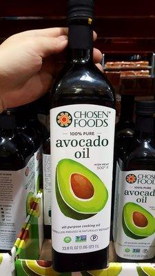 Chosen Foods 酪梨油 每瓶1公升-吉兒好市多COSTCO代購