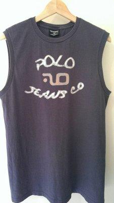 【Dr. Fashion 】Polo Jeans Co. Ralph Lauren logo 背心 筒身無接縫