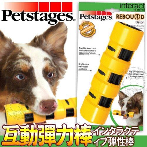 【🐱🐶培菓寵物48H出貨🐰🐹】petstages》1155犬用玩具互動彈力棒-L號 特價350元