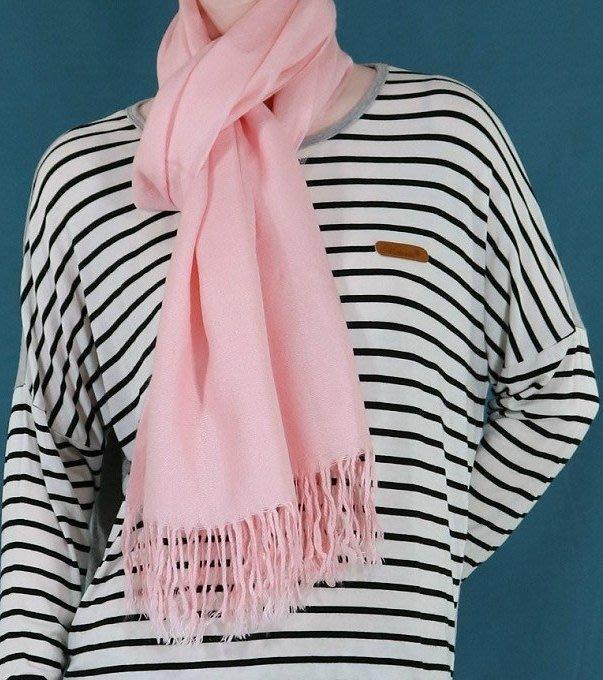 轉賣 喜氣粉色 cashmere 喀什米爾 圍巾