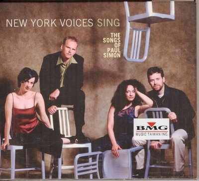 NEW YORK VOICES SING--THE SONGS OF PAUL SIMON
