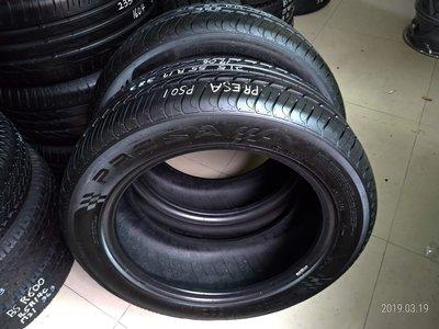 215 55 R 17 17年製造 PRESA 倍力加 PS01 落地胎 二手 中古 輪 胎 一輪1500元