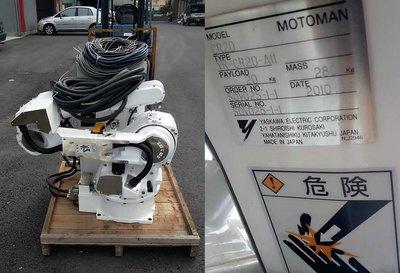 YASKAWA 安川機械手臂 CR20 上市 YASKAWA MOTOMAN ROBOT