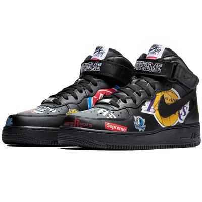 【AYW】NIKE AIR FORCE 1 AF1 SUPREME MID NBA 聯名 經典 休閒鞋 運動鞋 us9