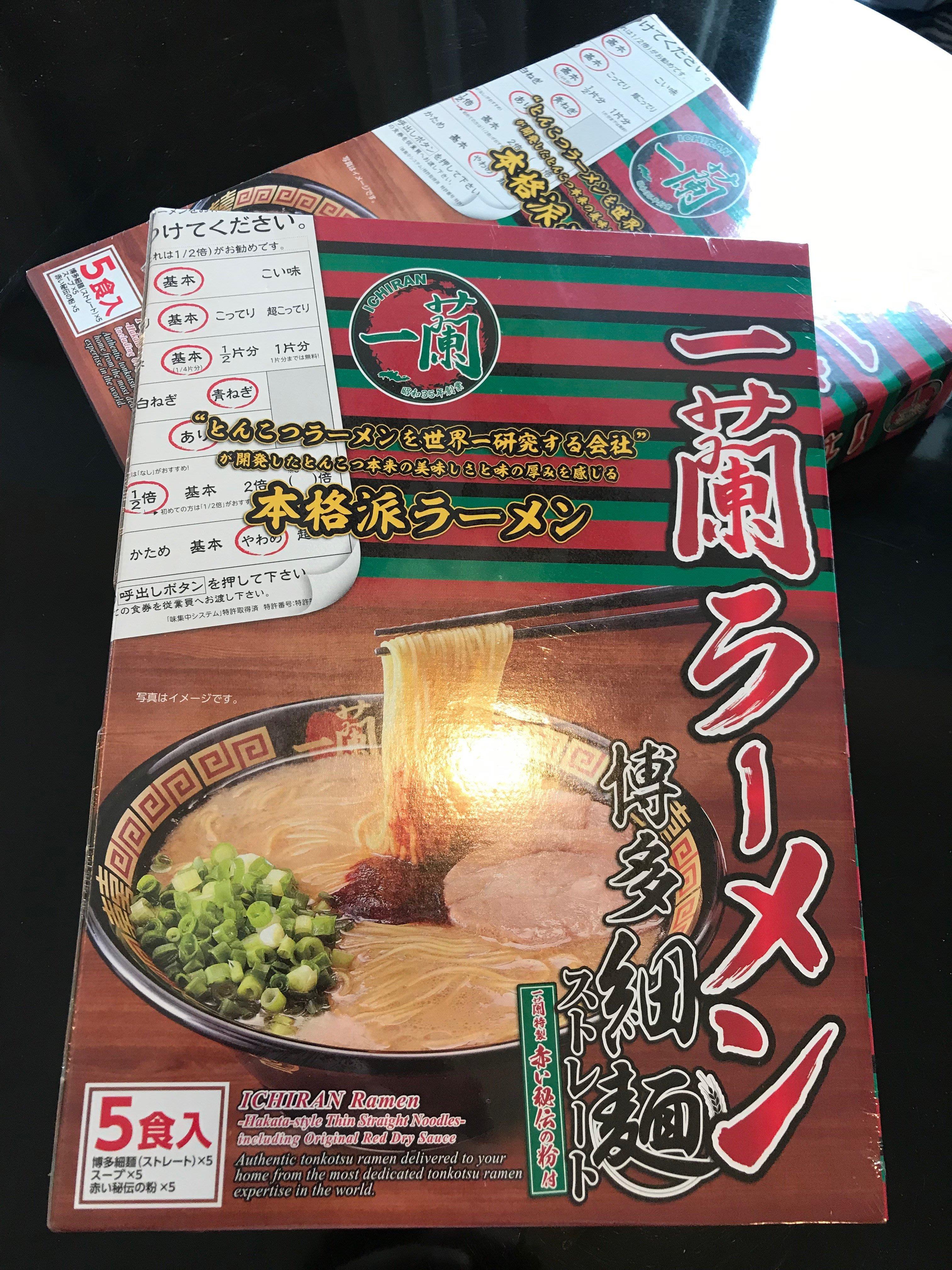 ㄧ蘭拉麵博多細麵 一蘭直麵(5入) 現貨
