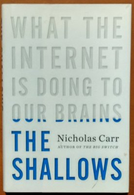 【探索書店414】原文小說 The Shallows 絕鯊島 Carr, Nicholas 210312
