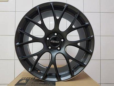 售全新 日本RAYS G16 114.3 19吋 前後配