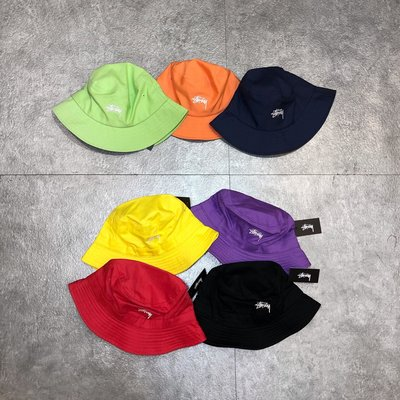 【Faithful】STUSSY SP19 STOCK BUCKET HAT【132917】 漁夫帽 7色