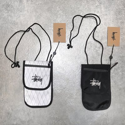 【Faithful】STUSSY TRAVEL POUCH【134240】側背小包 黑白