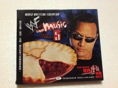 ~拉奇音樂~世界摔角聯盟系列WORLD WRESTLING FEDERATION VOLUME5 二手片況新 內附貼紙