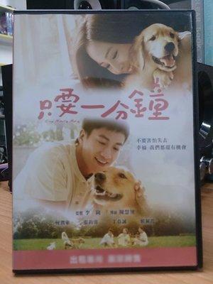 影音大批發-I16-024-二手DVD-華語【只要一分鐘】-何潤東/張鈞寧/丁春誠