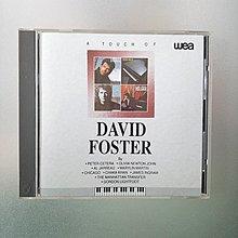 【裊裊影音】大衛佛斯特A Touch of David Foster-琴韻輕觸專輯-wea/UFO 1992年發行-Olivia Newton John...