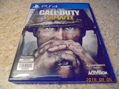 PS4 決勝時刻-二戰 COD WW2 中文版 直購價900元 桃園《蝦米小鋪》