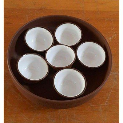 高雄市長許水德贈退休教職員紀念紫砂茶具
