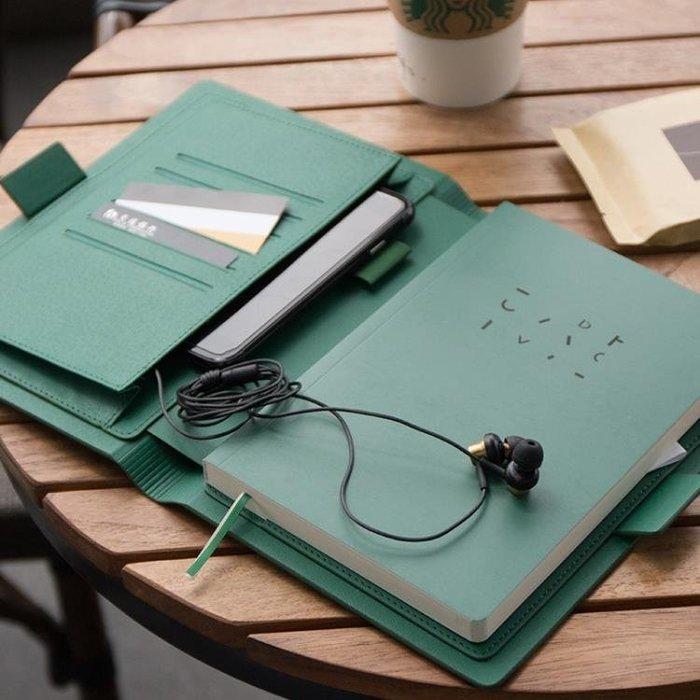 小清新商務辦公用面高檔記事本手帳本筆記本子文具