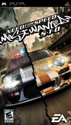 【二手遊戲】PSP 極速快感:全民公敵 5-1-0 英文版【台中恐龍電玩】