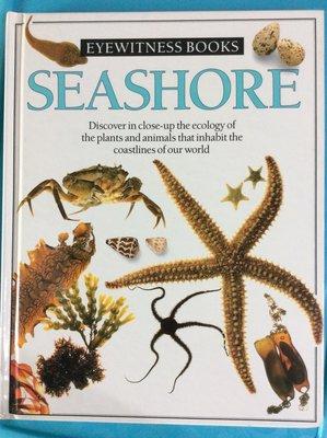 原文書 英文書 超難得機會 DK好書 Seashore  (Eyewitness Books)  海濱生態 精裝本