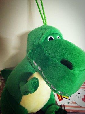 【風 船 小 舖】迪士尼 皮克斯 玩具總動員 抱抱龍 絨毛 娃娃 暴龍 恐龍 吊繩 吊飾 玩偶 布偶 20cm高 toy