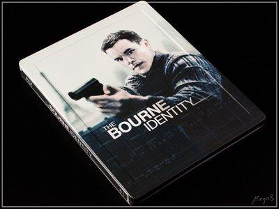 【BD藍光】神鬼認證 1:限定凹凸框字體鐵盒版The Bourne Identity(英文字幕)
