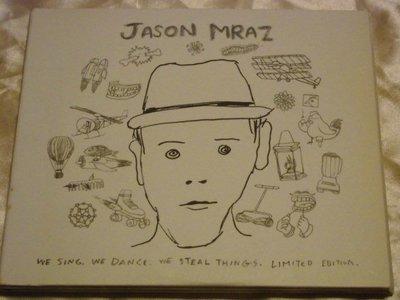 Jason Mraz傑森馬耶茲We Sing,We Dance,We Steal Things活出自我 2CD+1DVD