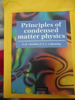 Principles of Condensed Matter Physics  Chaikin Lubensky