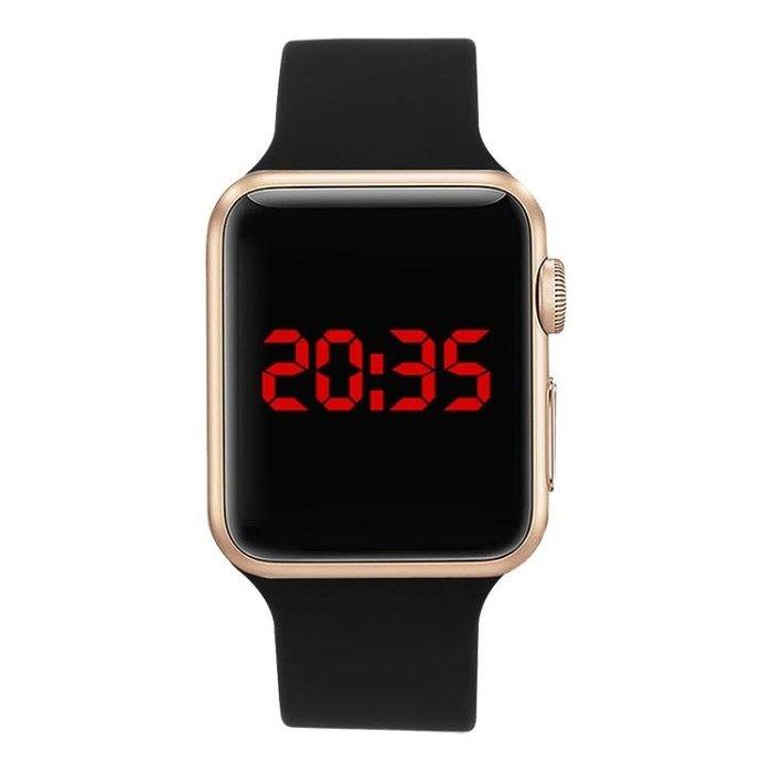免運~手錶-觸控LED手錶運動時尚潮流男表女表情侶學生兒童表電子表 【卓越名坊】