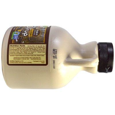 【Swisse專柜】美國發貨Now Foods 純楓糖漿 楓葉糖漿 Maple Syrup 473ml