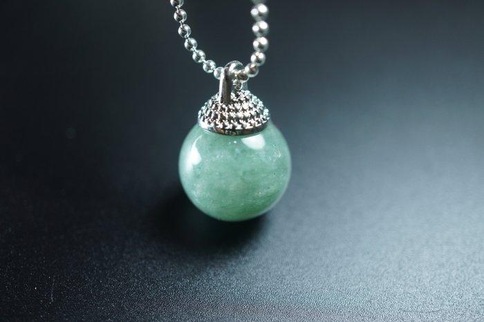 「還願佛牌」天然 瑪瑙 玉石 水晶 圓石 綠東陵 靈擺 項鍊 問事 增強磁場