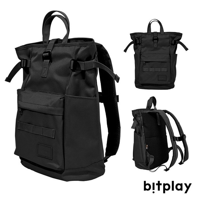 BITPLAY - 輕旅包Lite-黑色/淺卡其