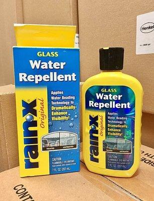 3罐330元【阿齊】潤克斯 Water Repellent RAIN X Rain X 潑水劑 免雨刷 207CC