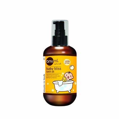 澳洲anumi天然植萃橄欖寶寶沐浴油