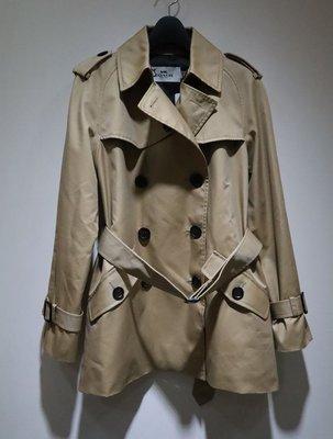 全新 原價近3萬 美國COACH ,短版綁帶風衣
