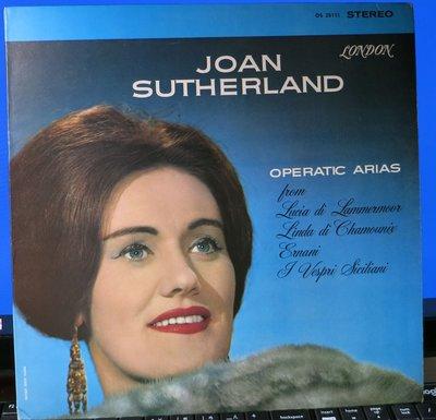 黑膠 Sutherland 蘇莎蘭 Operatic Arias 歌劇女高音詠嘆調選集 (英London)