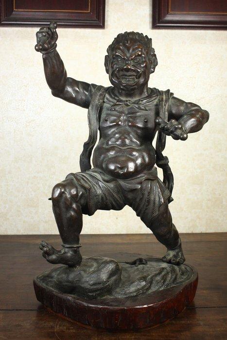 悅年堂 --- 銅 18世紀 雷公像