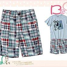 【B& G童裝】正品美國進口GYMBOREE Plaid Patchwork Short綠彩格子短褲8,10yrs