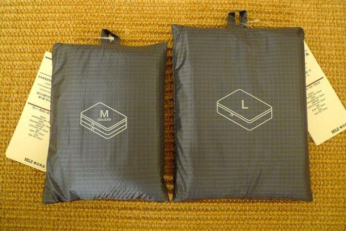 無印良品 *日本原裝版:滑翔傘布旅行分類可折收納袋 * / *  只要 338 寄送到家!!