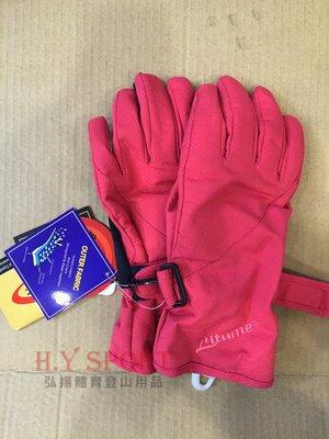 【H.Y SPORT】意都美 防水透氣禦寒手套 F126-08  女款