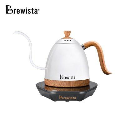 咖啡壺Brewista智能控溫手沖咖啡壺家用不銹鋼細長嘴電熱水壺泡茶溫控壺